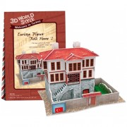 Cubicfun Puzzle 3D Casa turceasca model 2, 18 piese