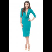 Rochie Aimee turquoise