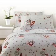 Lenjerie de pat din bumbac Cottonissima model 134-03 1 persoana