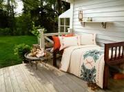 Lenjerie de pat de lux din bambus si bumbac imprimat digital Cottonissima Apuseni v2 2 persoane
