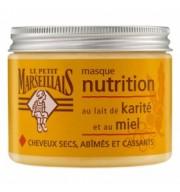 Masca pentru par uscat cu lapte de shea-karite si miere 300ml Le Petit Marseillais