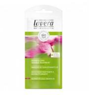 Tratament natural reparator cu extract de trandafir ulei de macadamia si ulei de avocado pentru parul uscat si deteriorat Lavera plic 20 ml
