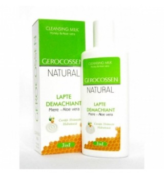 Natural lapte demachiant 3in1 200ml Gerocossen