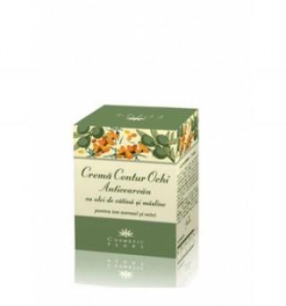 Crema contur ochi cu ulei catina si masline 30 ml Cosmetic Plant