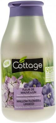 Gel de dus cu parfum de nalba si seminte de in Cottage 250ml