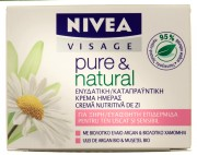 Crema nutritiva de zi 50ml Nivea Pure&Natural