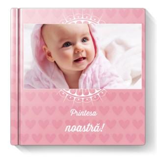 Fotocarte Primul An - Fetita | Format Patrat