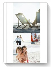 Fotocarte Simplu, Alb | Format Portret