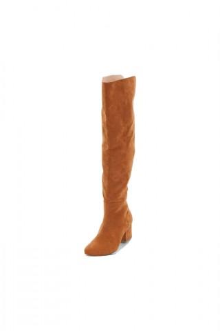 Cizme inalte cu toc 5,5 cm