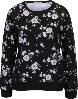 Bluza din bumbac cu print floral Haily's