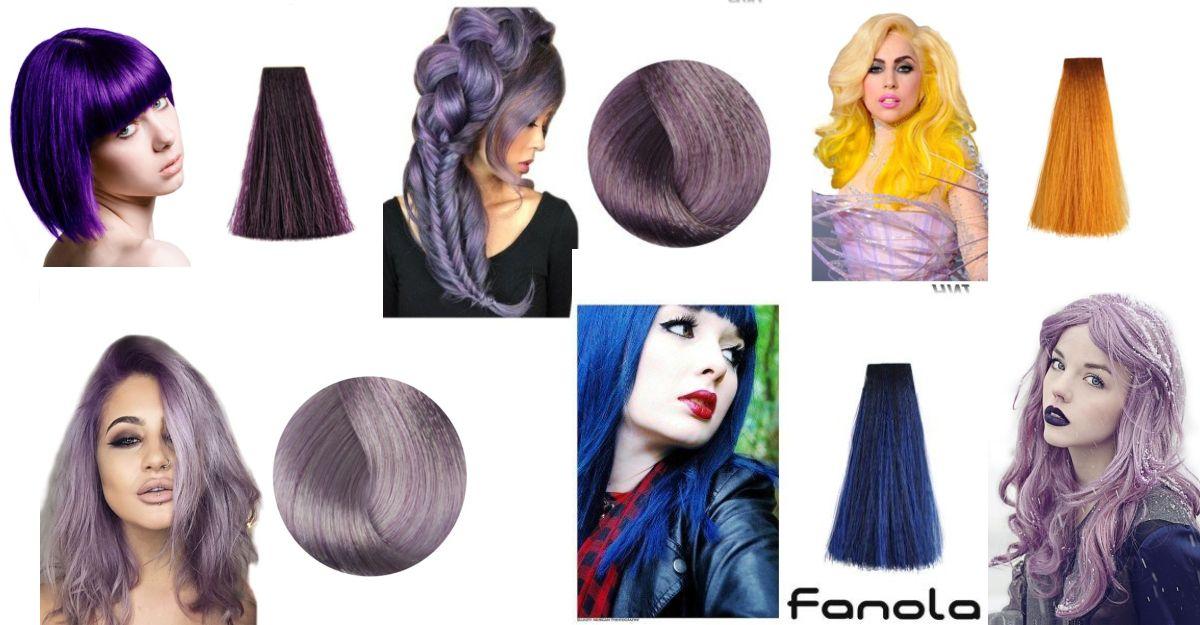Vopsea De Păr în Culori Trăsnite Fantezie Pentru Păr în Nuanțe Pastel