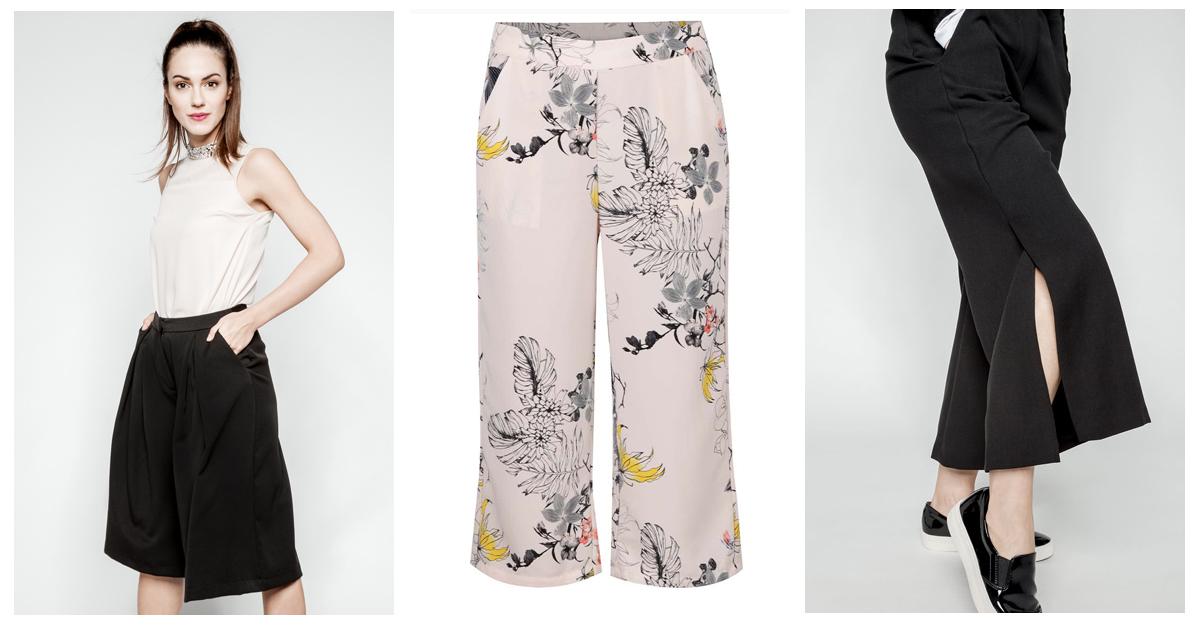 Fusta-pantaloni clasica