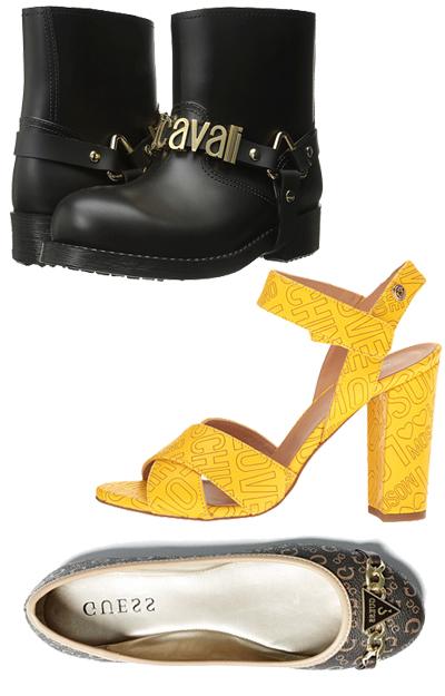 Alege pantofi cu logo celebru