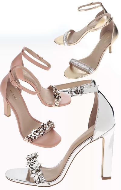Alege sandale sclipitoare si poarta-le cu sosete