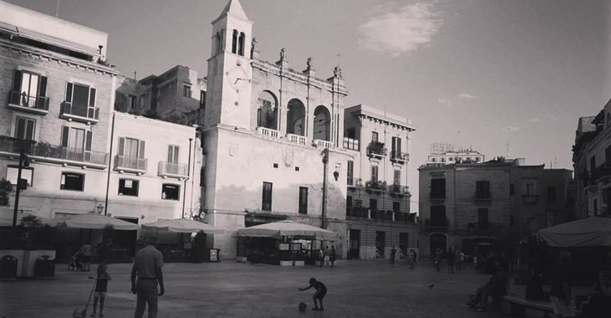 Barivecchia este partea cea veche, unde poti vedea exact viata din Apulia