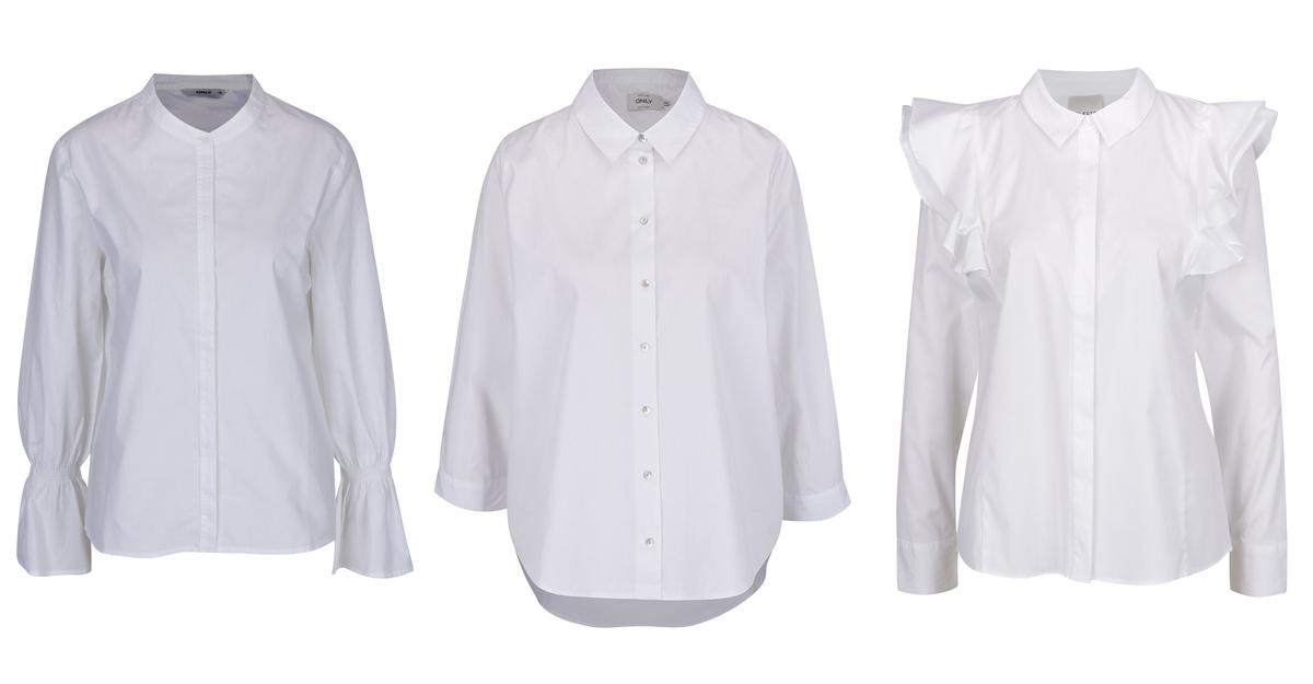 Cauta cele mai chic modele de camasi clasice albe