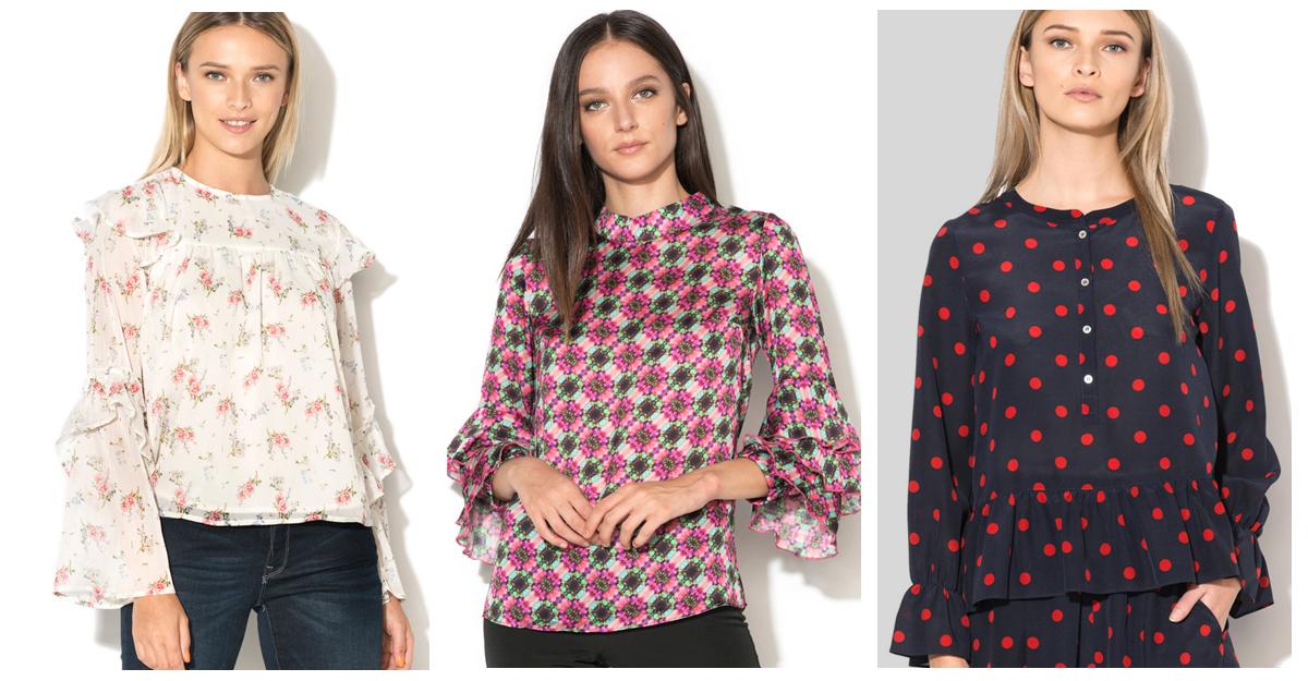 Alege bluze cu imprimeuri interesante