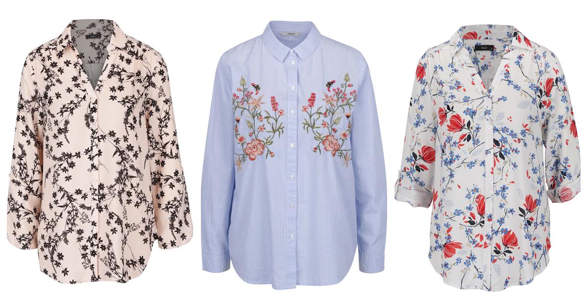 Camasile cu imprimeu floral sunt must-have