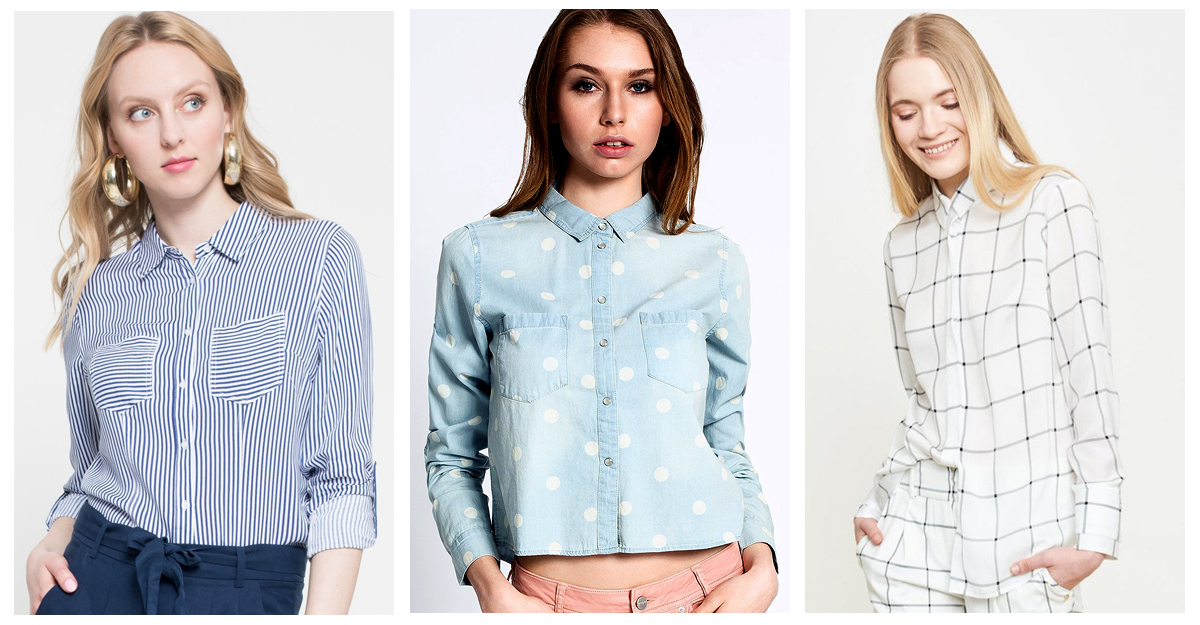 Poarta camasile cu print geometric in vara asta!