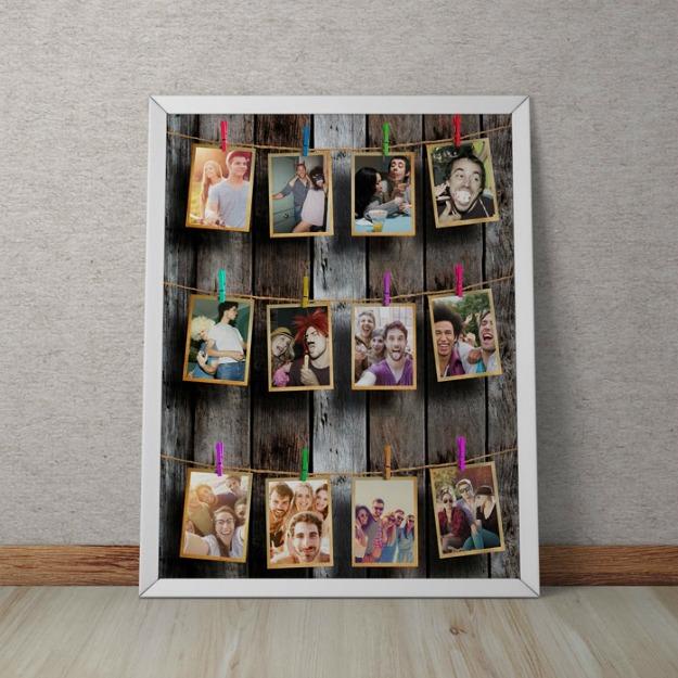 Cadouri de Paste pentru parinti: tablou personalizat
