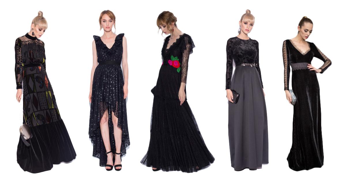 Cele mai sexy rochii din dantela neagra