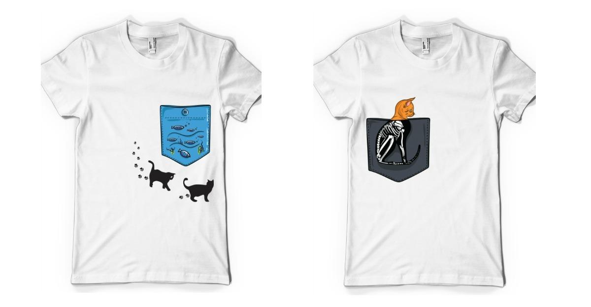 Tricouri pentru iubitorii de pisici