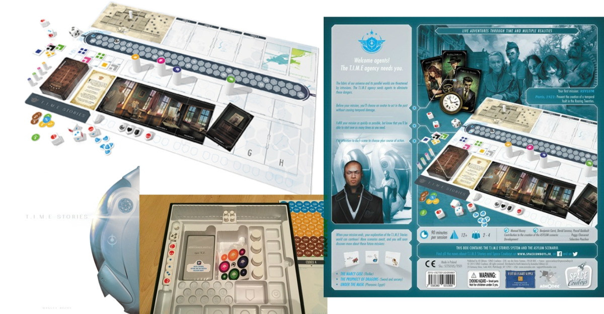 boardgame de cupluri T.I.M.E. Stories