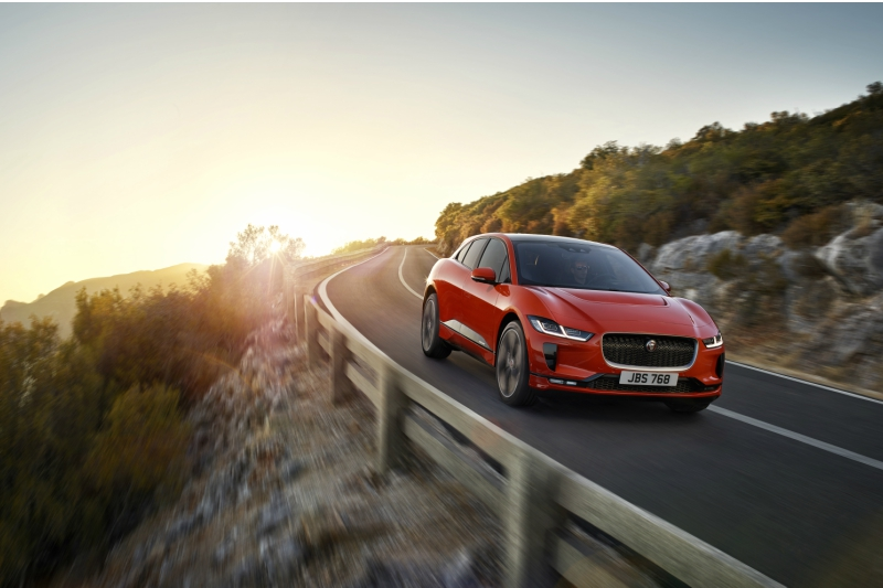 I-Pace SUV Jaguar electric