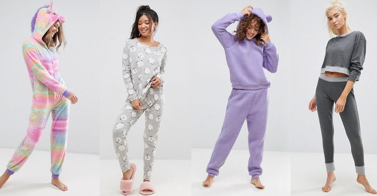 Cele mai simpatice pijamale confortabile