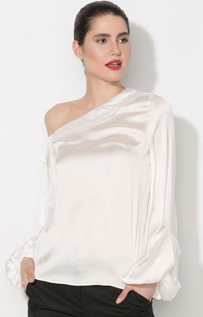 Modele de bluze cu umerii cazuti