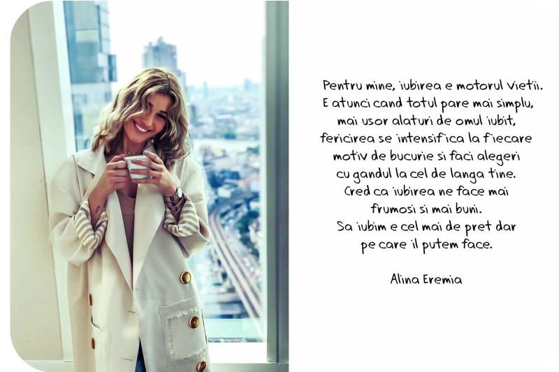 Mesaj de iubire de la Alina Eremia