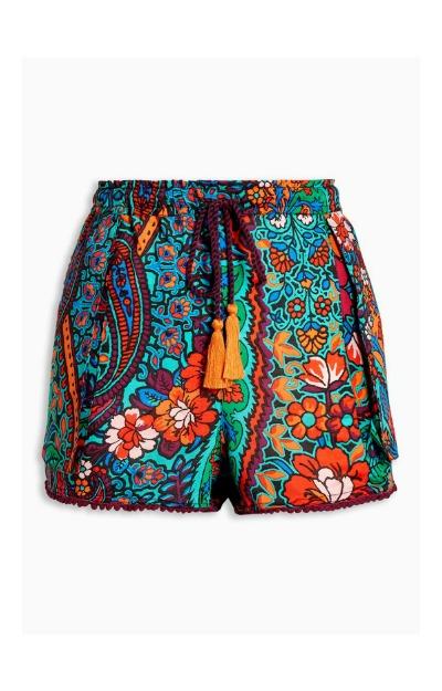 Pantaloni scurti multicolori
