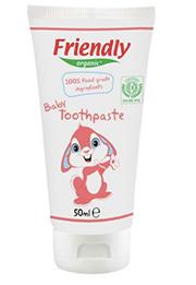 pasta de dinti pentru bebelusi organica fara fluor