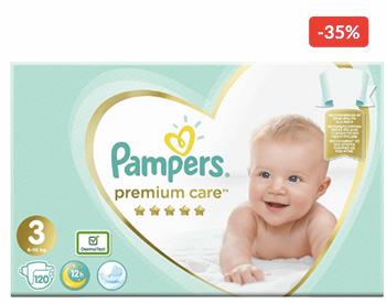 oferte pampers premium care