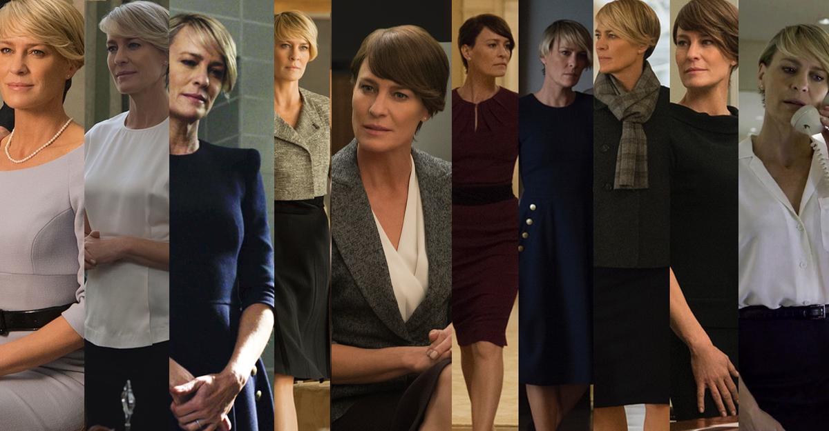Woman in charge: cum sa te imbraci precum Claire Underwood la birou