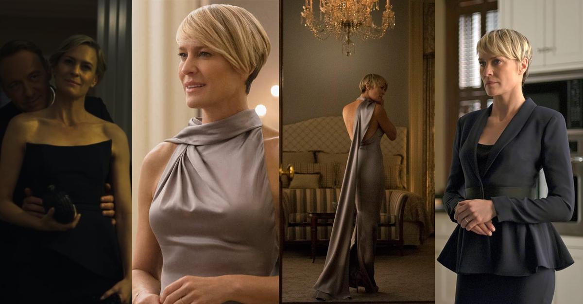Cum te imbraci precum Claire Underwood la evenimente speciale