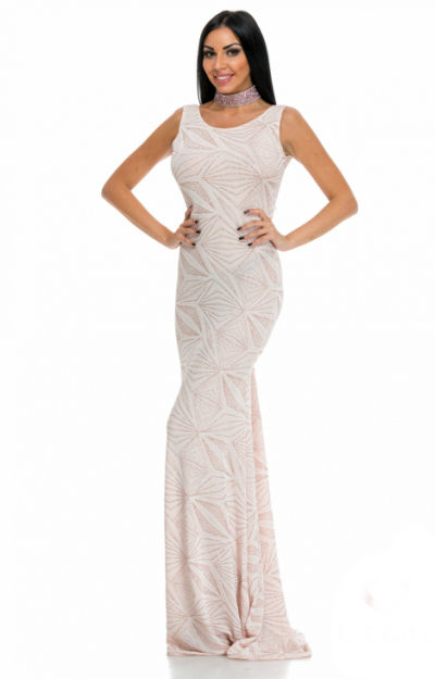 Rochie tip sirena nude