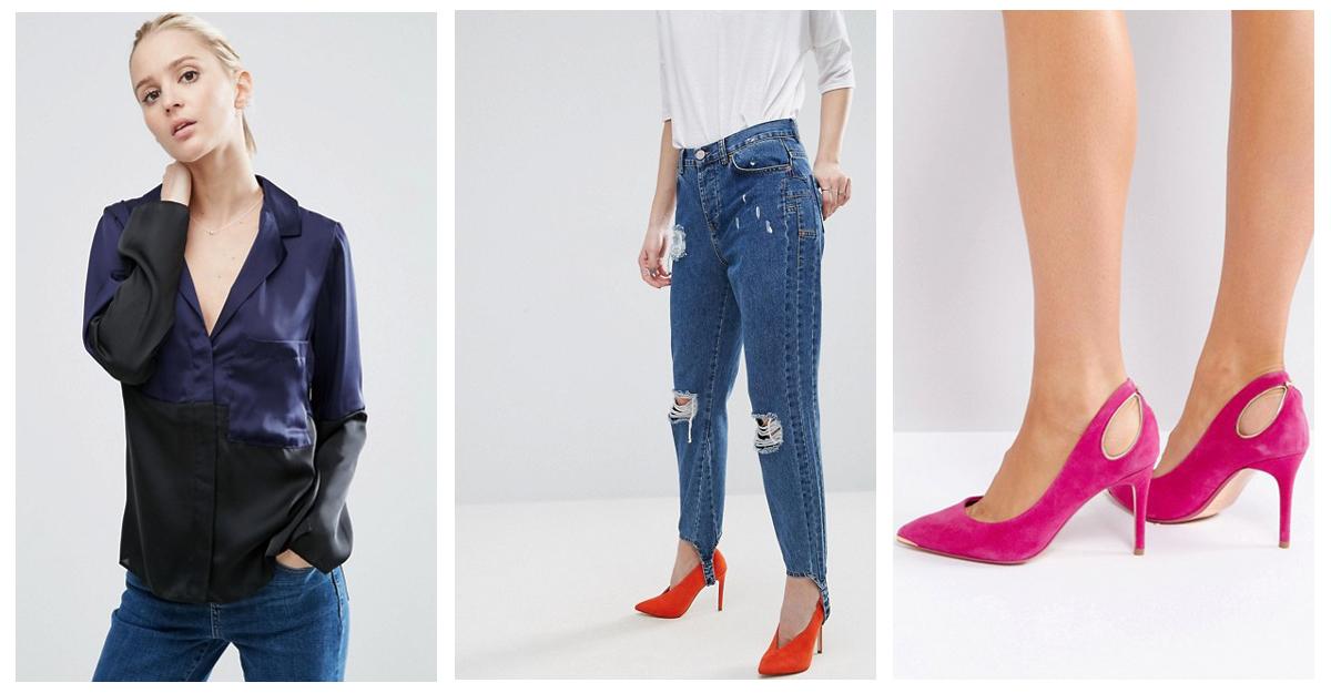 Bluze din satin la jeans: cum le porti casual