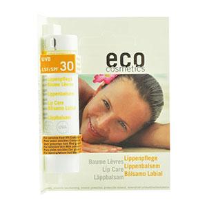 balsam buze organic cu factor de protectie mineral spf 30