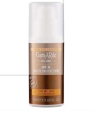 crema organica de protectie solara cu filtre minerale spf 30