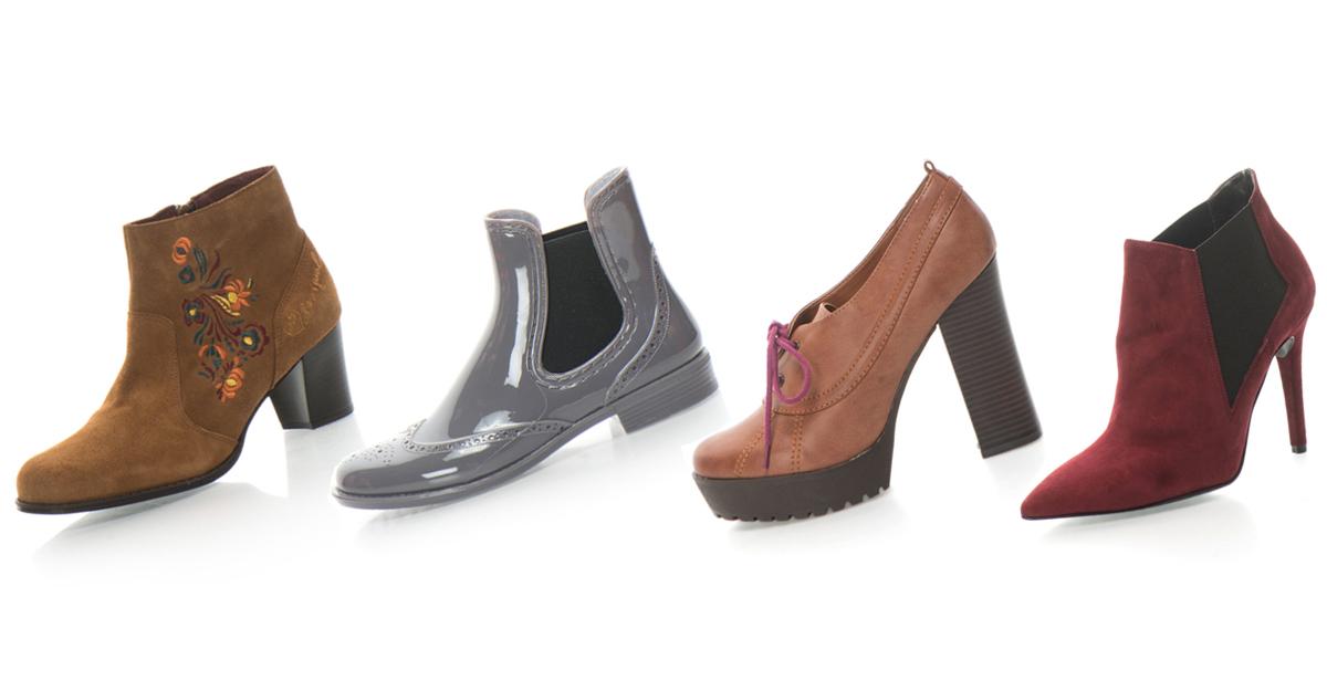 Pantofi, ghete si botine de toamna