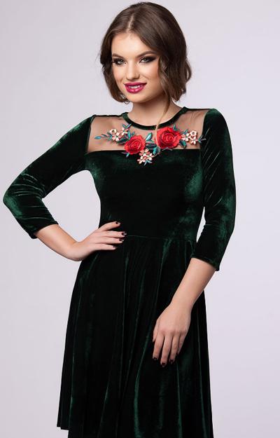 Rochie de catifea
