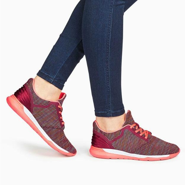 Pantofi sport din material tricotat
