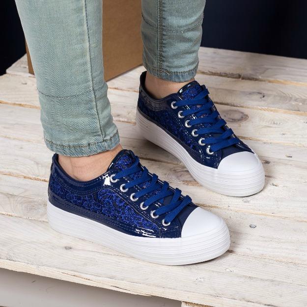 Pantofi sport cu dantela