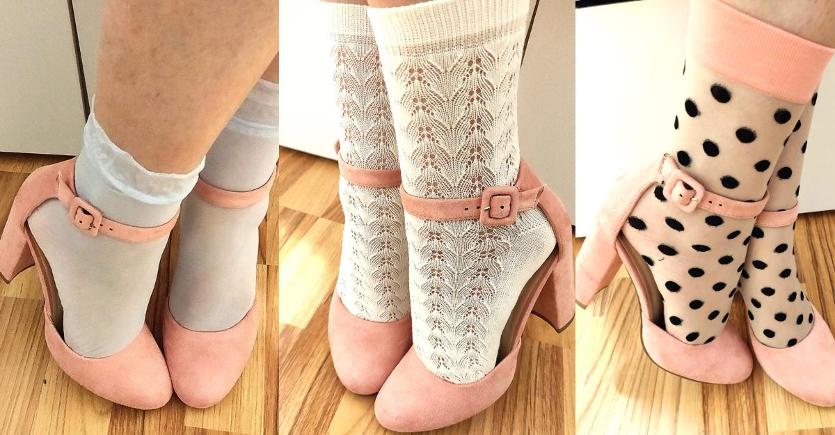 sandale cu șosete cu model