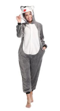 pijama de craciun sau iarna fleece dama