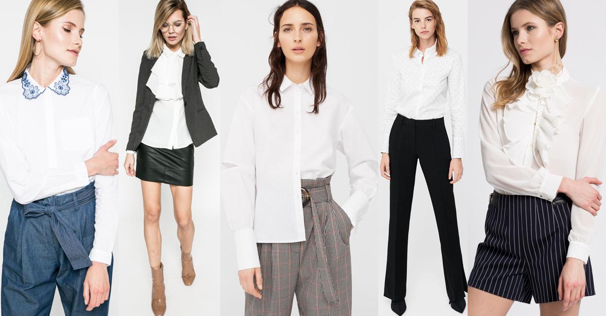 Alege camasi albe pentru tinuta office eleganta