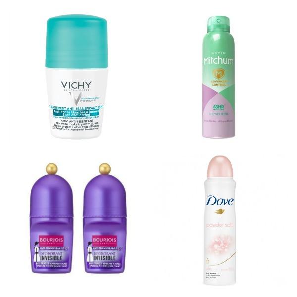 Deodorant antiperspirant