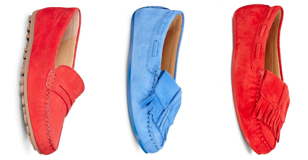 Modele de mocasini colorati