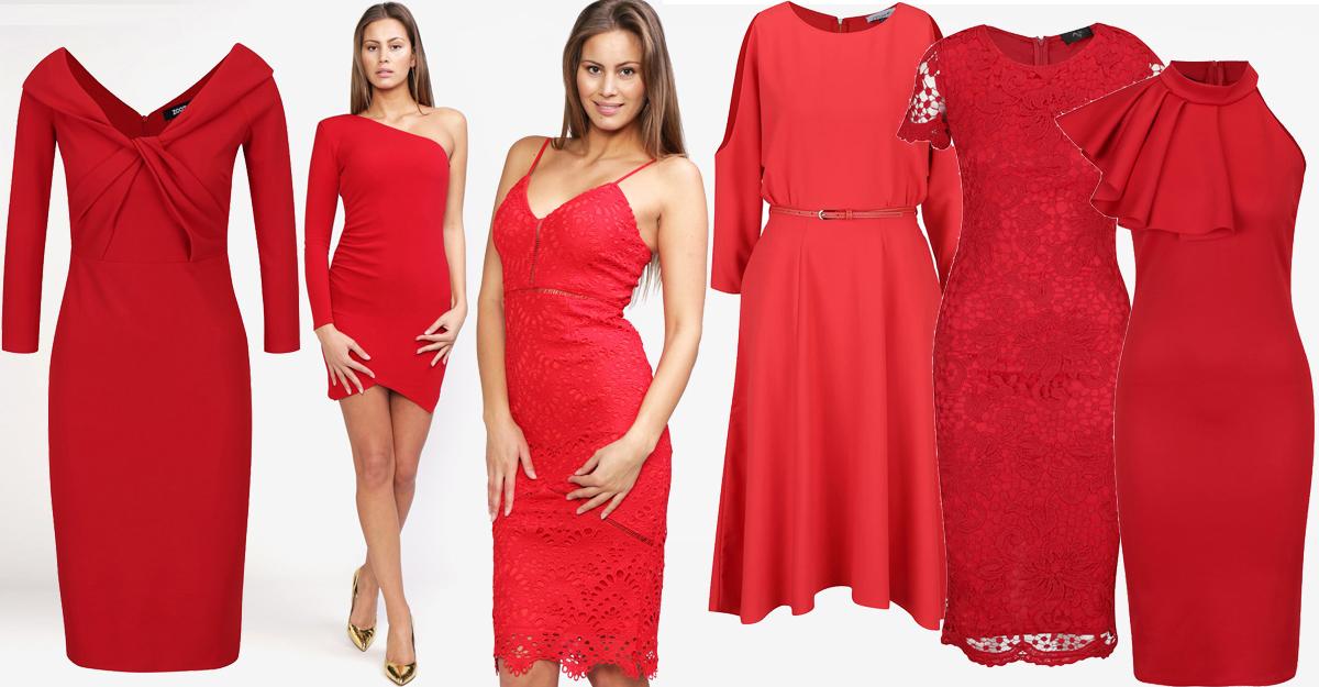 Alege o tinuta de Valentines Day cu rochii rosii de seara